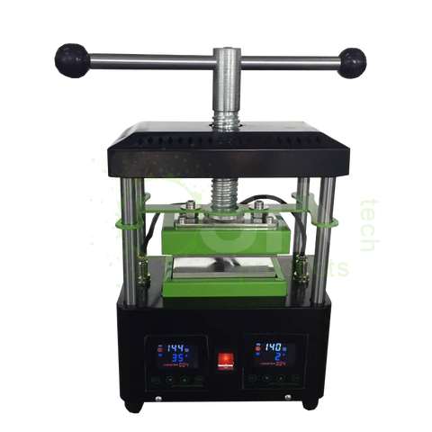 The ultimate rosin press buying guide updated for 2018 trimleaf rosin tech products rtp gold manual twist tech press fandeluxe Choice Image