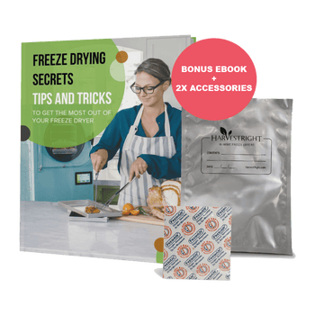 Harvest Right Freeze Dryer Free Ebook and Accessories Promotion