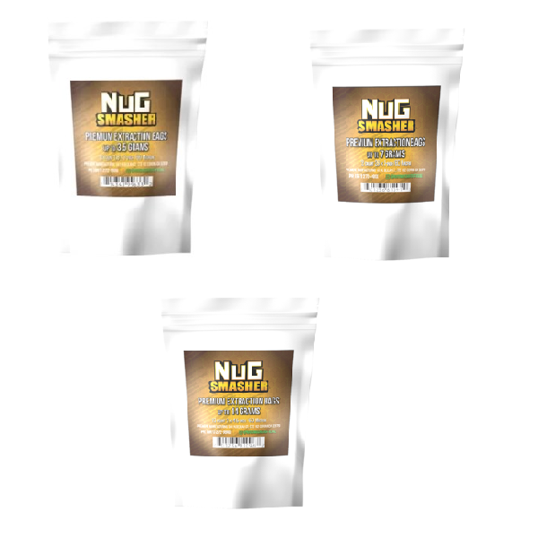 NugSmasher Rosin Extraction Bags