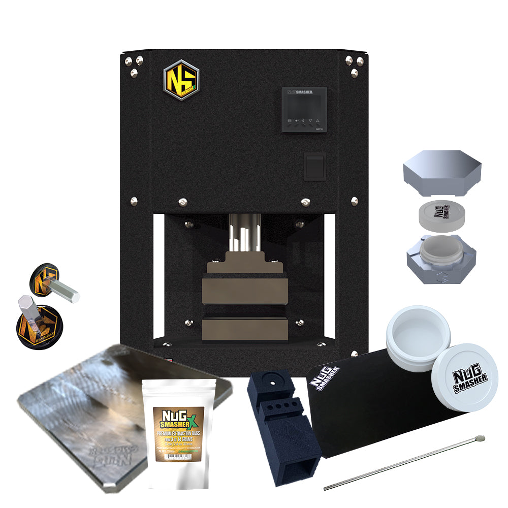 NugSmasher X 3 Ton Rosin Press Master Bundle
