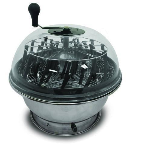 Clear Top Motorized Bowl Bud Trimmer