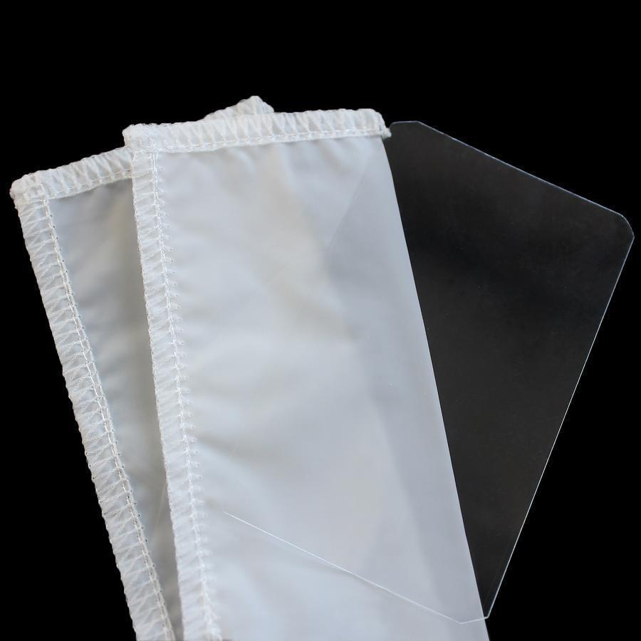 "Dulytek Dulytek 25 Micron 1.75"" X 5"" Rosin Press Nylon Filter Bags"
