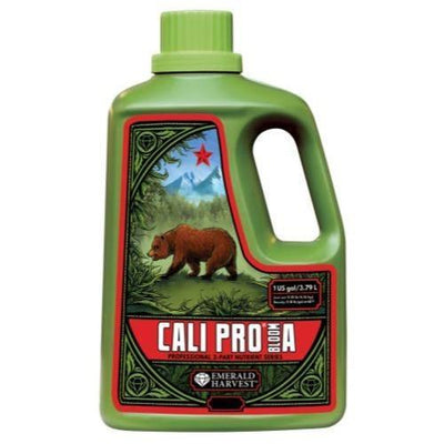 Emerald Harvest Emerald Harvest Cali Pro Bloom A&B Nutrients 1 Gallon / Grow A
