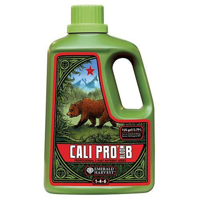 Emerald Harvest Emerald Harvest Cali Pro Bloom A&B Nutrients 1 Gallon / Grow B