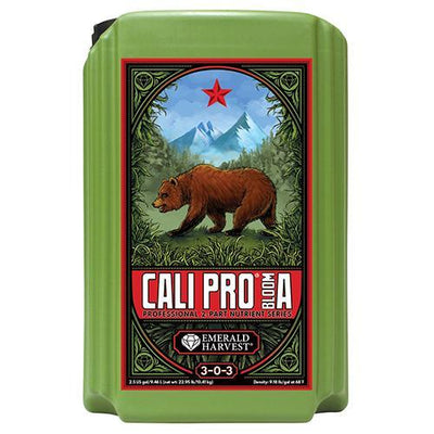 Emerald Harvest Emerald Harvest Cali Pro Bloom A&B Nutrients 2.5 Gallons / Grow A