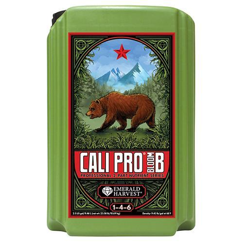 Emerald Harvest Emerald Harvest Cali Pro Bloom A&B Nutrients 2.5 Gallons / Grow B