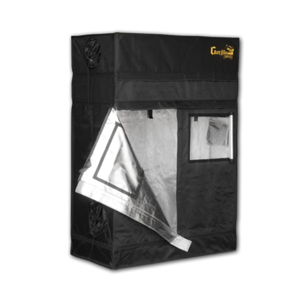 "Gorilla Grow Tent Gorilla Grow Tent Shorty 2' X 4' x 4'11"" Hydroponic Grow Tent"