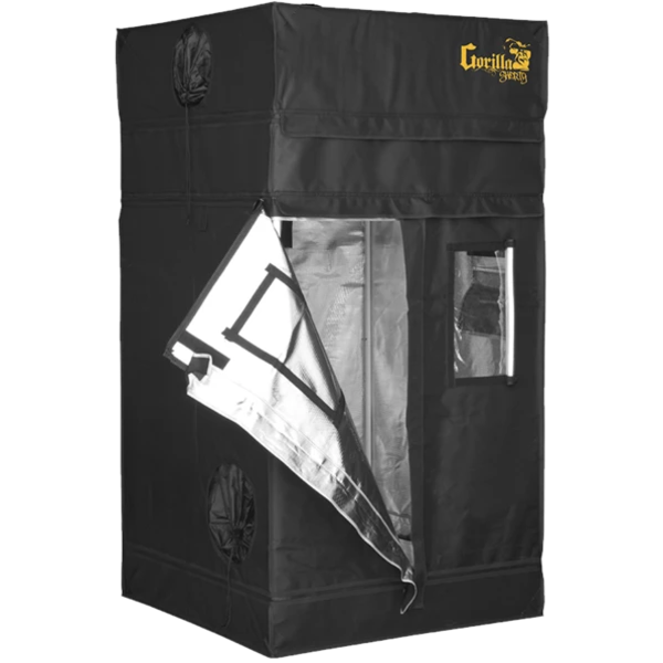 "Gorilla Grow Tent Gorilla Grow Tent Shorty 3' X 3' x 4'11"" Hydroponic Grow Tent"