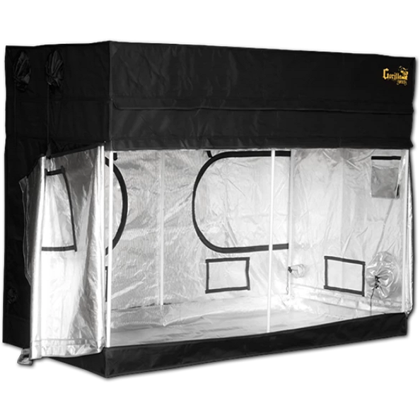 "Gorilla Grow Tent Shorty 4' X 8' x 4'11"" Hydroponic Grow Tent"