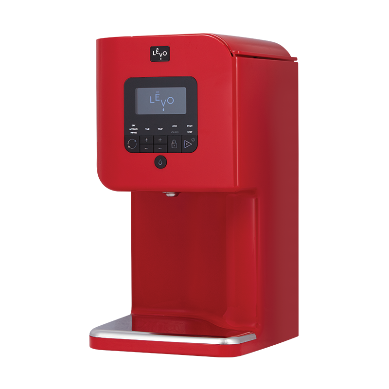 LEVO Levo II Oil Infuser Extraction Machine Red