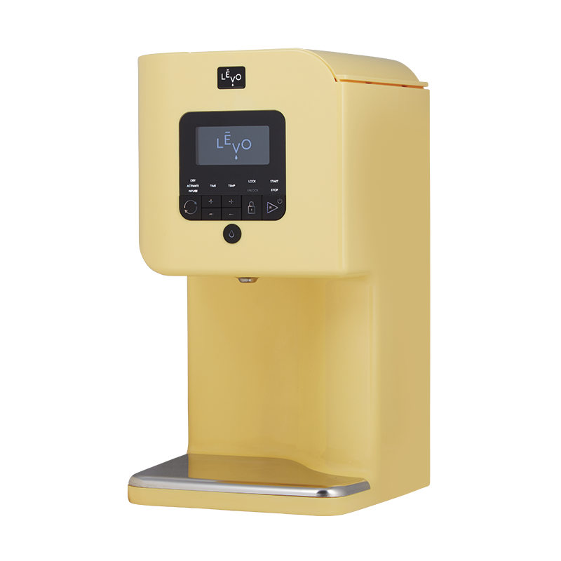 LEVO Levo II Oil Infuser Extraction Machine Yellow