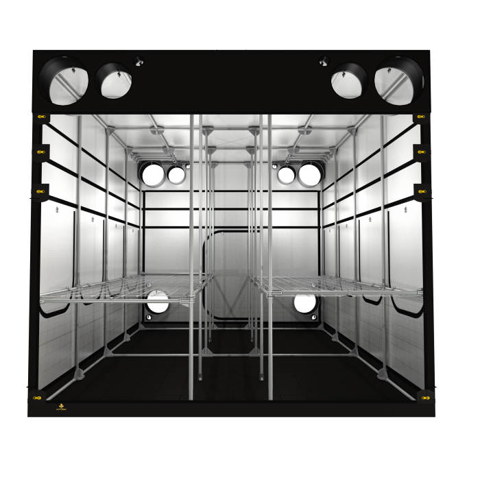 Secret Jardin Intense V3 480 16' x 10' x 7' Hydroponic Grow Tent