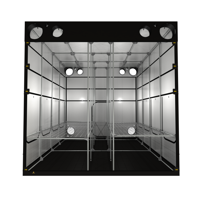 Secret Jardin Intense V3 600 20' x 12' x 8' Hydroponic Grow Tent