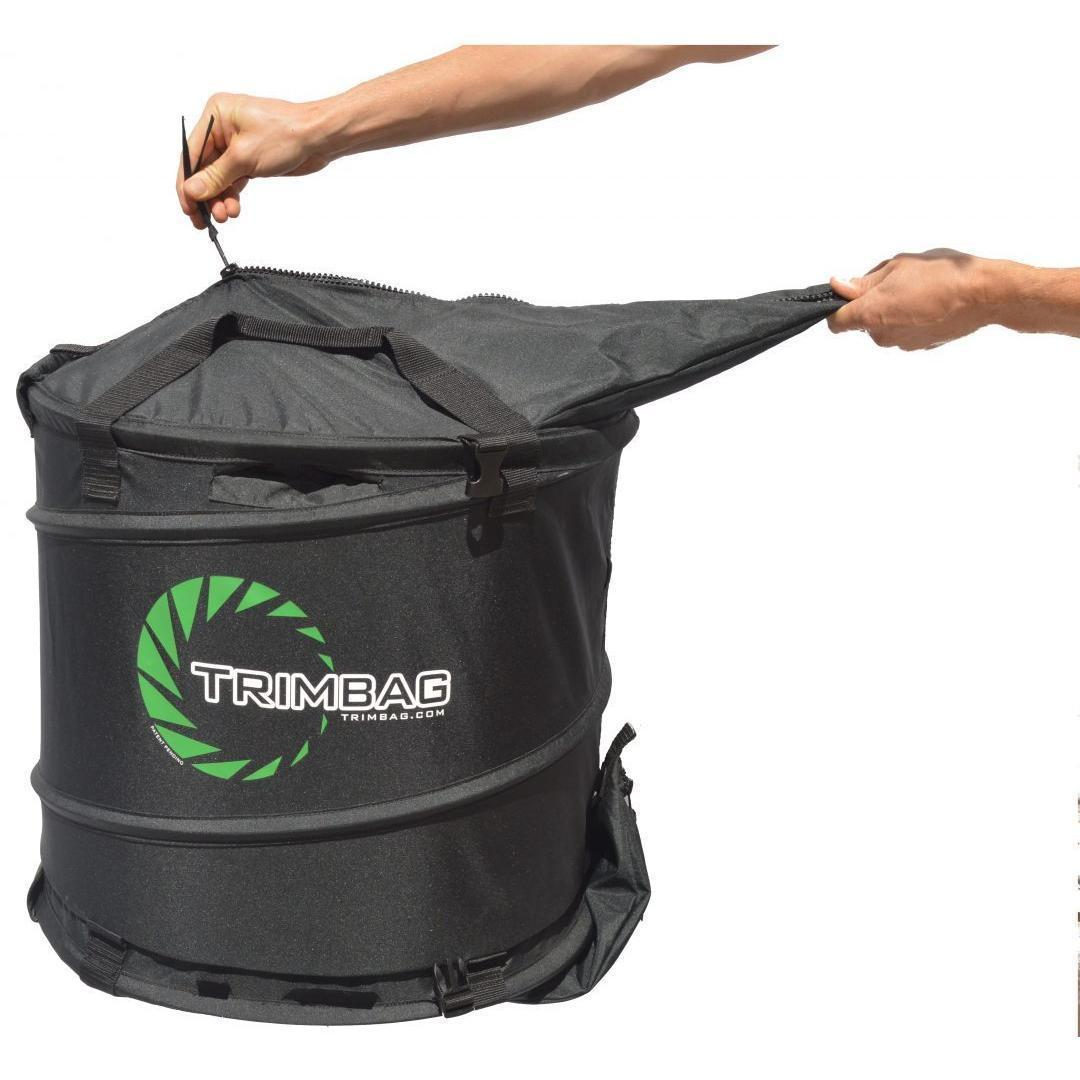 TrimBag Collapsible Bladeless Dry Bud Trimmer