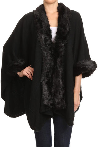 Fur Wrap [black]