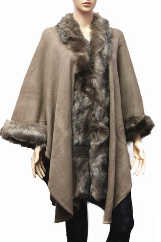 Fur Wrap [brown]
