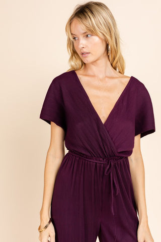 Jocelyn Jumpsuit [plum]