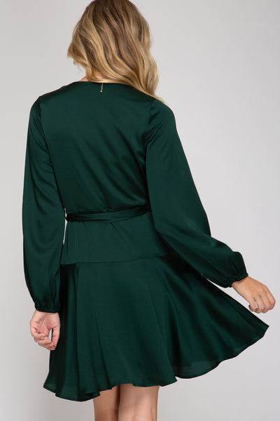 Bianca Wrap Dress [green]