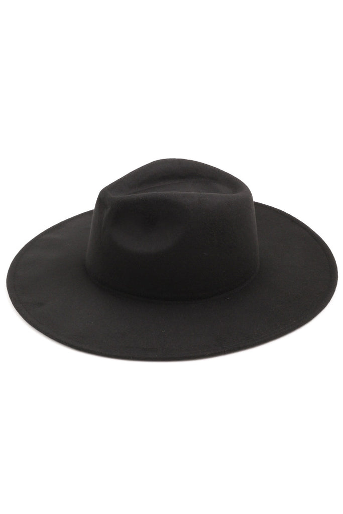 Cassidy Wide Brim Hat [black]