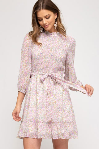 Delphine Dress [lilac]