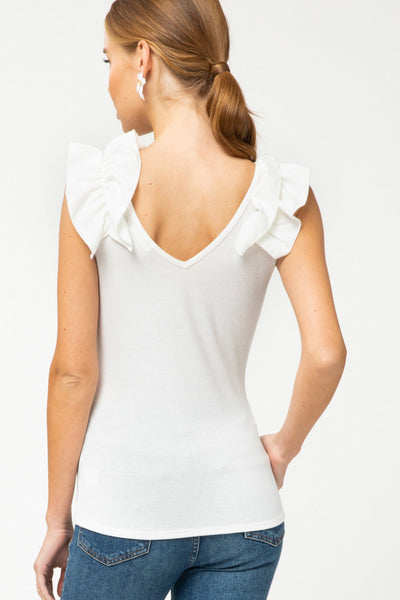 Shirley Top [white]