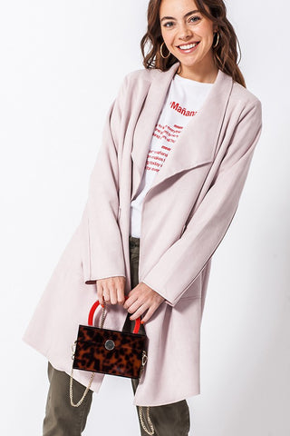Lola Coat [dusty rose]