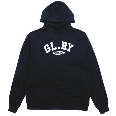 The Glory Hoodie - Black/White