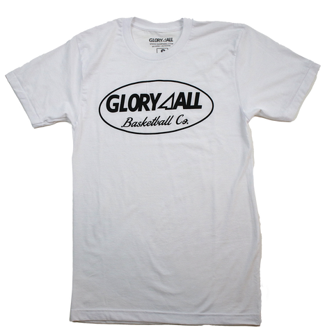 Oval Statement Tee - WHITE