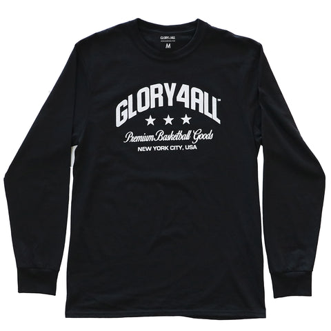 The Billboard Long Sleeve - BLACK
