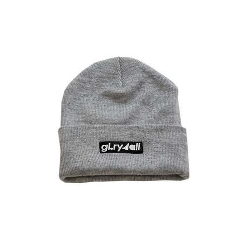 The box Logo Beanie - Heather Gray