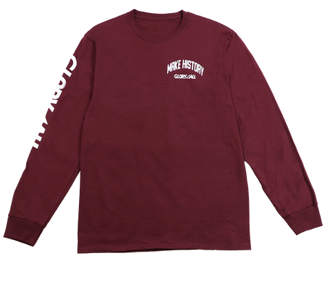The History Long Sleeve - Maroon