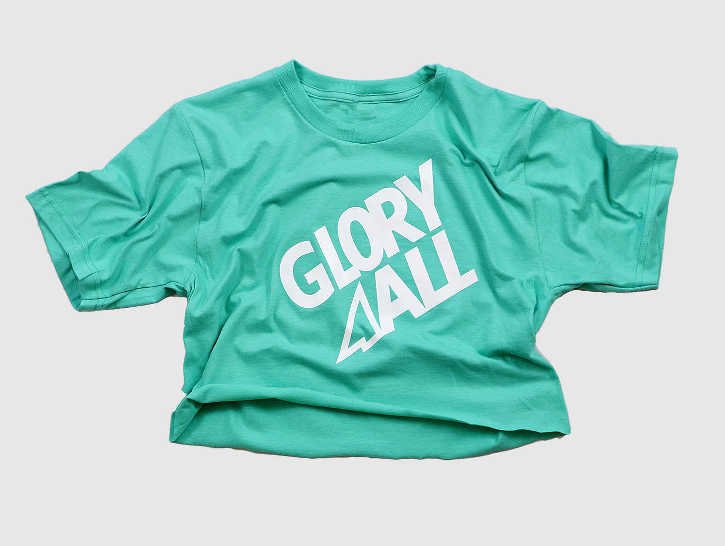 The G2 CROP TEE - MINT