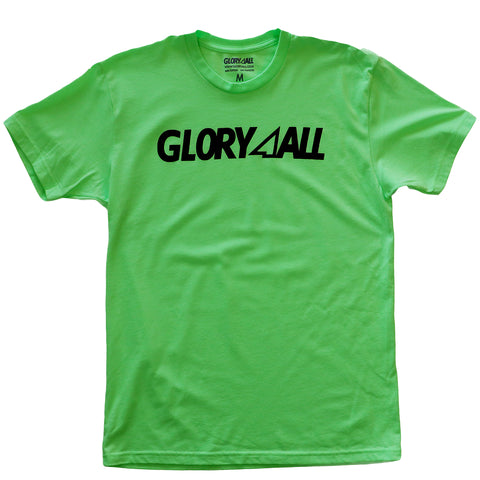THE LOGO TEE - SAFETY GREEN
