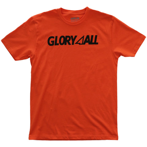 THE LOGO TEE - ORANGE