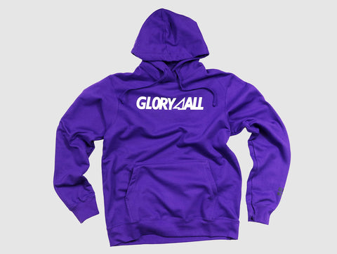 The Logo Hoodie V1 - Purple