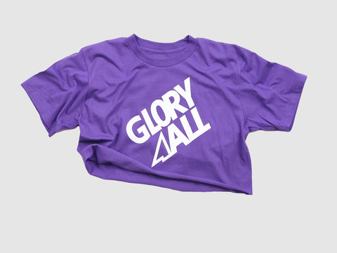 The G2 CROP TEE - PURPLE