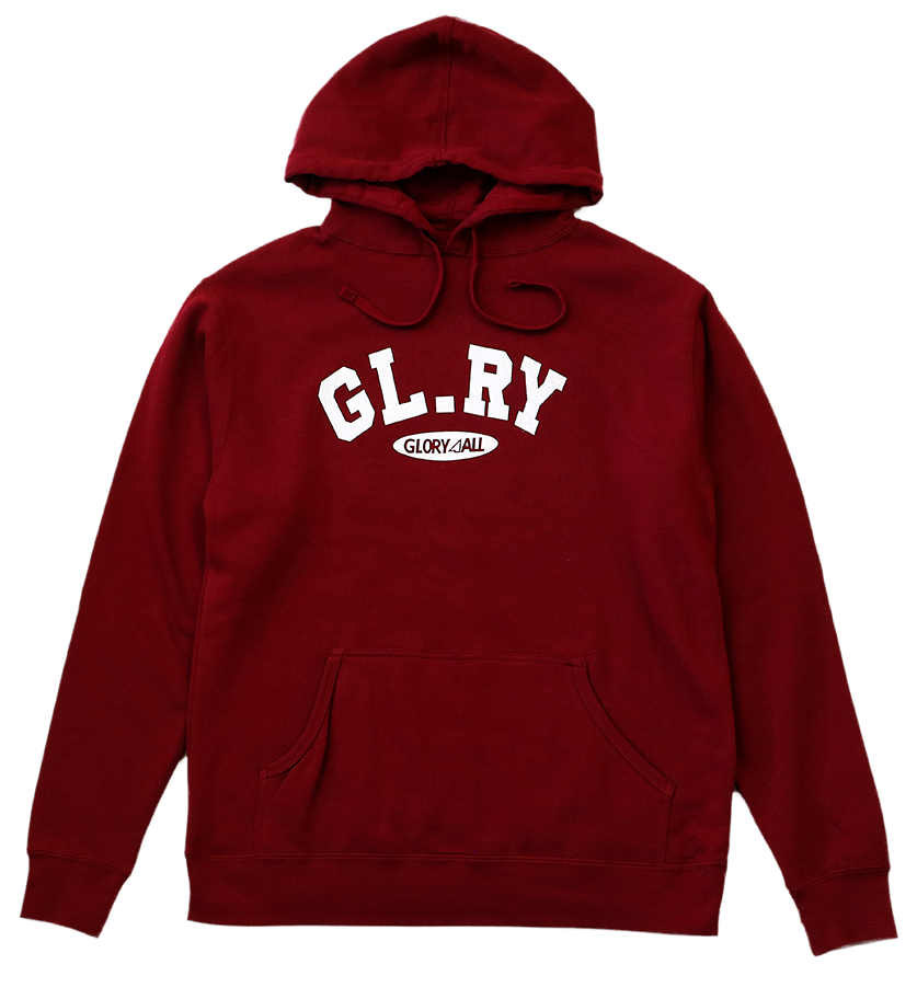The Glory Hoodie - Red