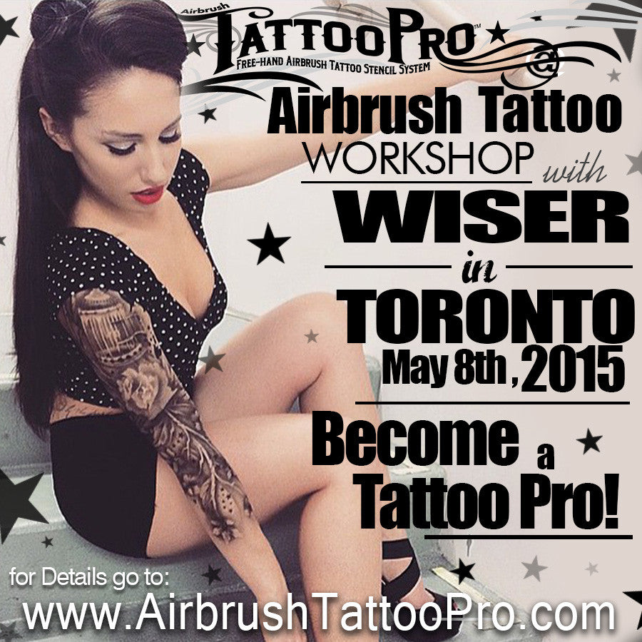 Tattoo Pro workshop in Toronto, ON