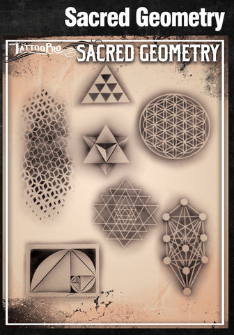 SACRED GEOMETRY - Tattoo Pro Stencils