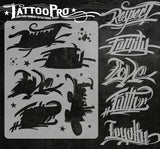 GOOD WORDS - Tattoo Pro Stencils