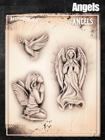 Angels - Tattoo Pro Stencils