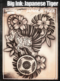 Big Ink: Japanese Tiger - Tattoo Pro Stencils