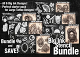 Big Ink Pick Six Bundle - Tattoo Pro Stencils