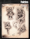 Fairies - Tattoo Pro Stencils