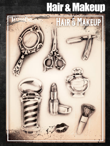 Hair & Makeup - Tattoo Pro Stencils