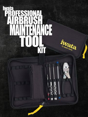Iwata Airbrush Maintenance Tool Kit - Tattoo Pro Stencils