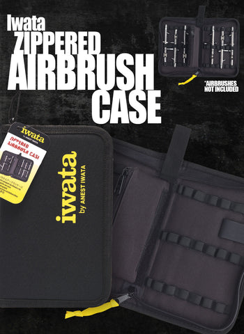 Iwata Airbrush Case ( Zippered) - Tattoo Pro Stencils