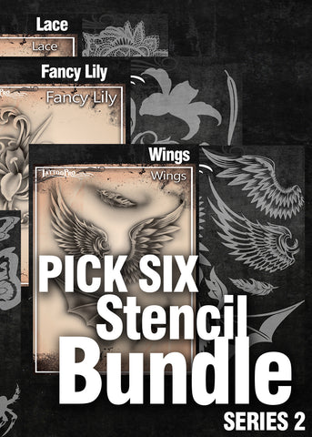 PICK SIX: SERIES 2 - Tattoo Pro Stencils