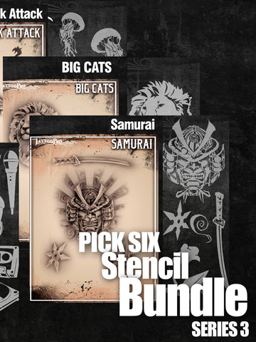 PICK SIX: SERIES 3 - Tattoo Pro Stencils