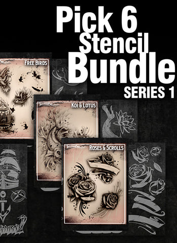 PICK SIX: SERIES 1 - Tattoo Pro Stencils